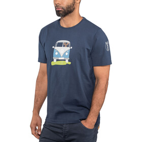 Elkline Methusalem - Camiseta manga corta Hombre - azul